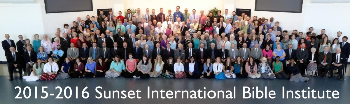 2015-2016 Sunset International Bible Institute
