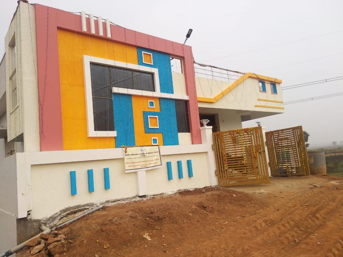 Partner School in India gets a Building